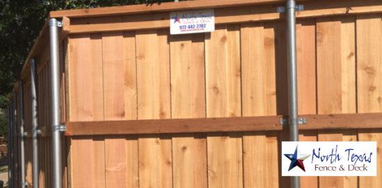 wooden fences contractor plano tx