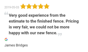 Good Review Privacy Fence Contractor
