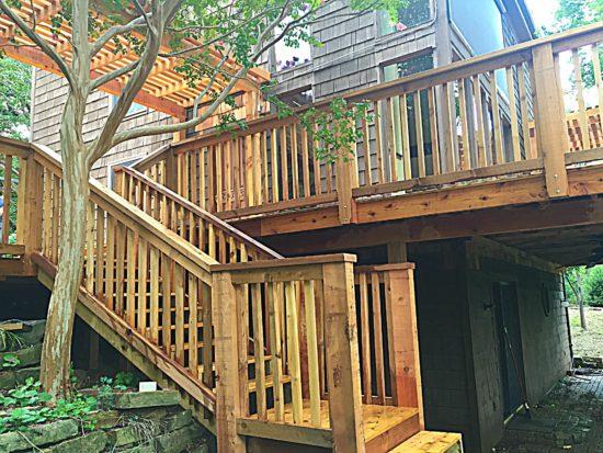 cedar wood deck plano Texas