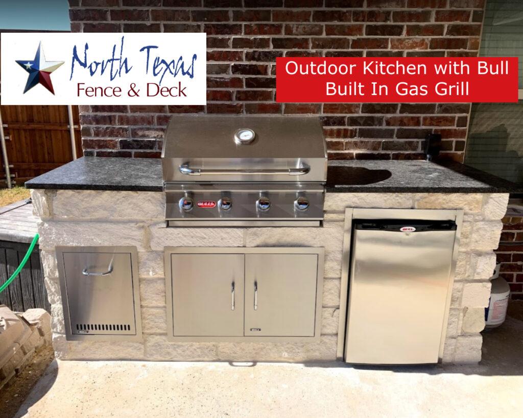 Bull Grill Outdoor Kitchen Carrollton TX